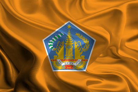 bali province: Flag of Indonesian Province Bali
