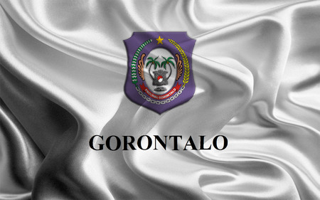 Flag of Indonesian Province Gorontalo photo