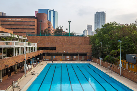 Swimming Pool of The Hong Kong Polytechnic University