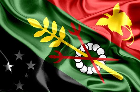 papua: Flag of Simbu Province, Papua New Guinea