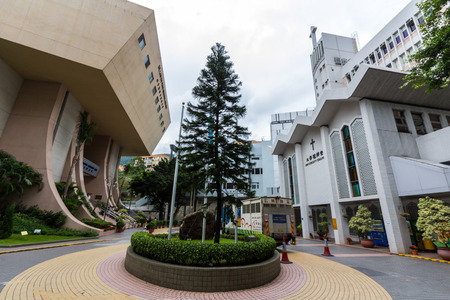 Dr  Lam Chi Fung memorial building and Baptist church in HKBU  Hong Kong Baptist University is a publicly funded tertiary institution with a Christian education heritage