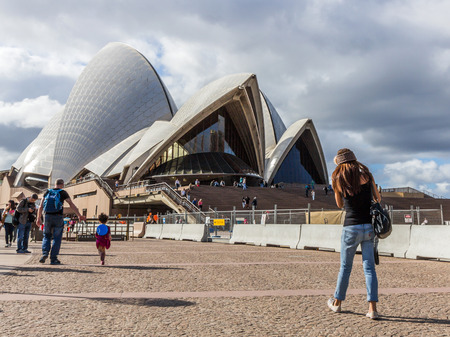 scenary: The Sydney Opera House