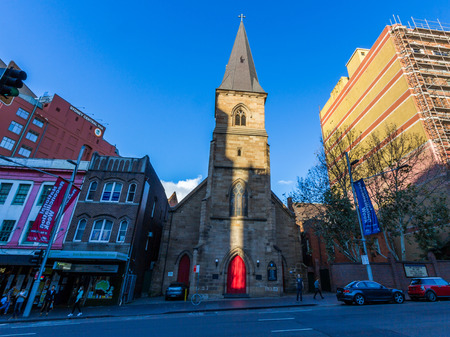laurence: Christ Church St Laurence in Sydney  This is a popular place among the local catholic people as well as tourists