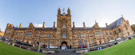 kwadrant: Budynek zabytkowy Quadrant Uniwersytetu w Sydney, Australia lub Crafoord Pięciu laureatów Nobla zostały powiązane z uczelni jako absolwentów i wykładowców
