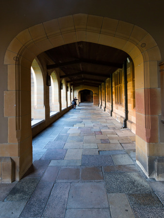 laureates: Historic Quadrant Building at Sydney University, Australia  Five Nobel or Crafoord laureates have been affiliated with the university as graduates and faculty  Editorial