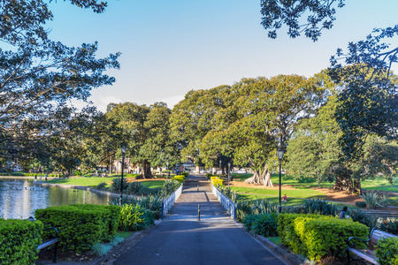 Victoria Park is a large park in Sydney, situated on the corner of Parramatta Road and City Road, within the grounds of University of Sydney
