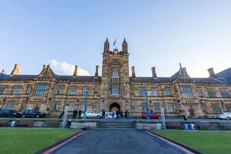 quadrant: Historic Quadrant Building at Sydney University, Australia  Five Nobel or Crafoord laureates have been affiliated with the university as graduates and faculty  Editorial