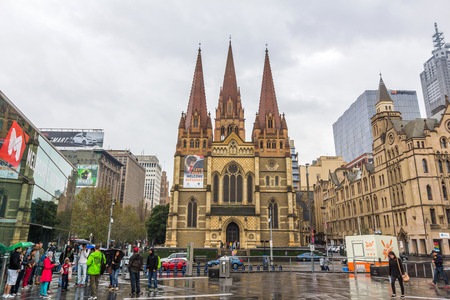 st  paul   s cathedral: St Paul s Cathedral in Melbourne is the metropolitical and cathedral church of the Anglican Diocese of Melbourne, Victoria in Australia   Editorial