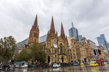 st paul s cathedral: St Paul s Cathedral in Melbourne is the metropolitical and cathedral church of the Anglican Diocese of Melbourne, Victoria in Australia