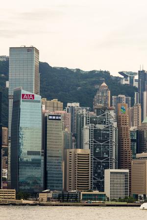 taller: Hong Kong is an international financial centre that has 112 buildings that stand taller than 180 meters  Editorial