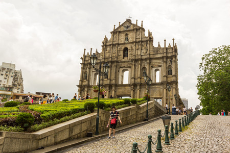 Ruins of St  Paul s Cathedral in Macau