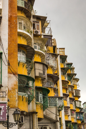 Apartments in Macao  Macao is developing fast, but still the majority of the people live in harsh conditions  Poor quarters are around the town