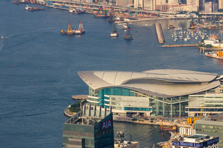 venues: The Hong Kong Convention and Exhibition Centre is one of the two major convention and exhibition venues in Hong Kong, along with AsiaWorld-Expo. Editorial
