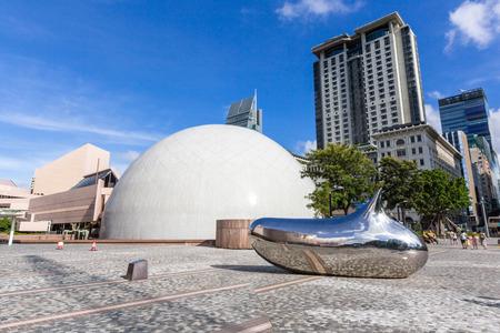De Hong Kong Space Museum is een museum van astronomie en ruimtevaart wetenschap in Tsim Sha Tsui. Het wordt beheerd door de recreatie en cultuur afdeling.
