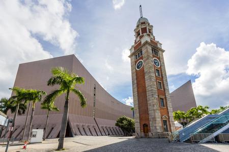 尖沙咀、九龍、Hong Kong の時計塔