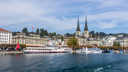 Lucerne cityscape, Switzerland photo