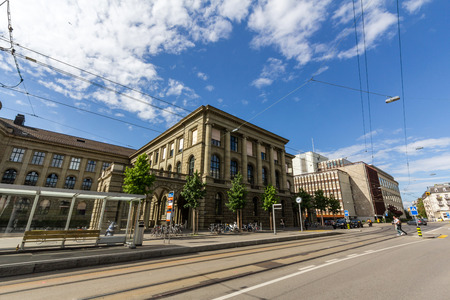 institute of technology: Swiss Federal Institute of Technology in Zurich (ETHZ)
