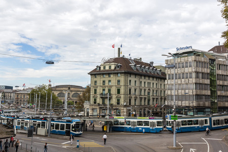 Trams make an important contribution to public transport in the city of Zurich in Switzerland. Trams within city are operated by the Verkehrsbetriebe Zurich (VBZ).