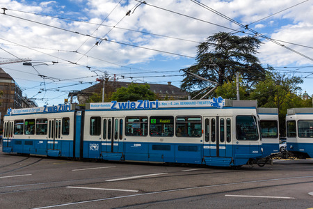 Trams make an important contribution to public transport in the city of Zurich in Switzerland. Trams within city are operated by the Verkehrsbetriebe Z?rich (VBZ).