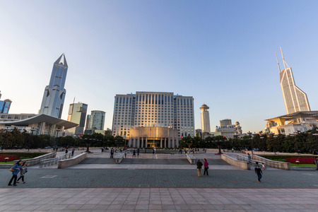 peoples: Shanghai Municipal Peoples Government Building Editorial