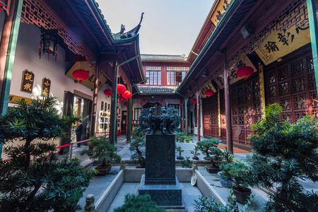 jade buddha temple: The Jade Buddha Temple is a Buddhist temple in Shanghai, China.  Editorial