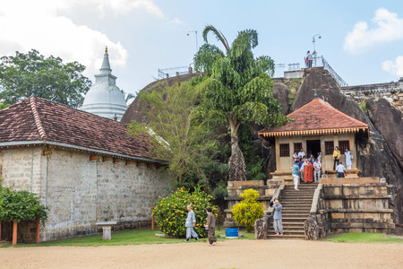 temple tank: Isurumuniya is a Buddhist temple situated near to the Tisawewa (Tisa tank). There are four carvings of special interest in this Viharaya.