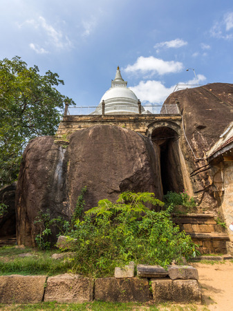 temple tank: Isurumuniya is a Buddhist temple situated near to the Tisawewa (Tisa tank) in Anuradhapura, Sri Lanka,