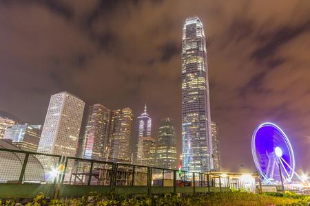 ifc: Hong Kong Skyline