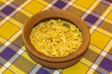 Cashew nut curry photo
