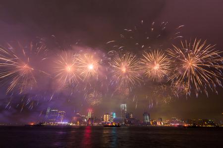 Hong Kong Fireworks photo