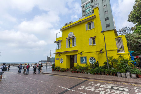 boathouse: The Boathouse, a landmark restaurant in Stanley, Hong Kong.