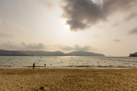 stanley: Stanley Main Beach in Stanley Hong Kong
