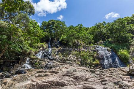 lantau: Silvermine Waterfall in Mui Wo Lantau Island Hong Kong