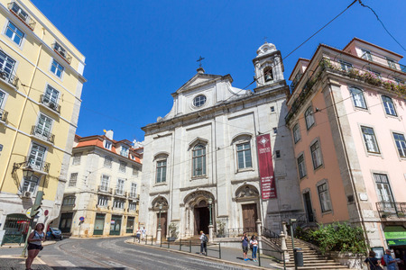 madalena: greja da Madalena is a church in Lisbon, Portugal which is classified as a National Monument.