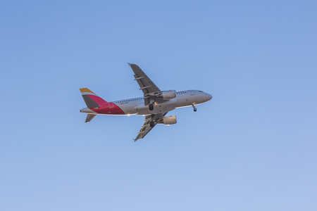 operates: Iberia is the flag carrier and the largest airline of Spain. It operates services from Adolfo Suarez Madrid-Barajas Airport and Barcelona El Prat Airport.