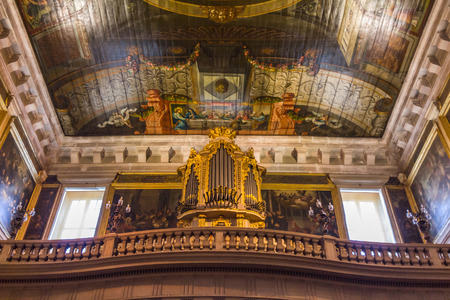 pipe organ: The pipe organ in Church of Sao Roque in Lisbon, Portugal. It was the earliest Jesuit church in the Portuguese world, and one of the first Jesuit churches anywhere.