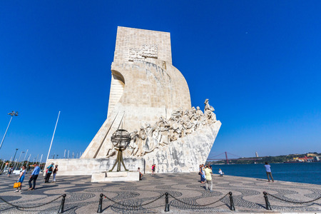 discoverer: Monument to the Discoveries is a monument on the northern bank of the Tagus River estuary, in the civil parish of Santa Maria de Belem, Lisbon. Editorial