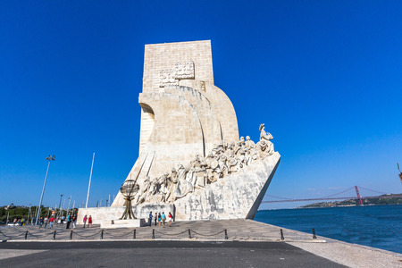 discoveries: Monument to the Discoveries is a monument on the northern bank of the Tagus River estuary, in the civil parish of Santa Maria de Belem, Lisbon. Editorial