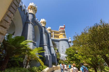sintra: Pena National Palace in Sintra, Lisbon