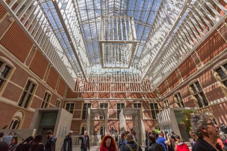 beatrix: Interior of the Rijksmuseum.