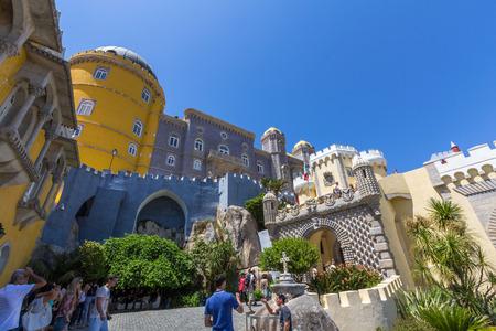 the pena national palace: Pena National Palace in Sintra, Lisbon