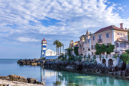 marta: Santa Marta Lighthouse and Museum in Cascais, Portugal