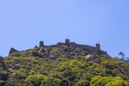 moors: Castle of the Moors in Sintra, Portugal