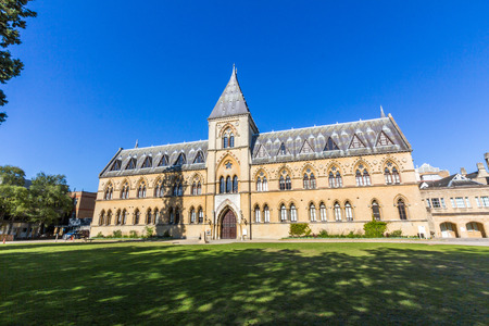 history building: The Oxford University Museum of Natural History, also known as the Oxford University Museum or OUMNH, is located on Parks Road in Oxford, England. Editorial