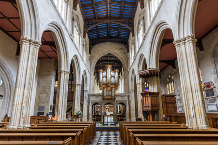 grew: Interior of University Church of St Mary the Virgin. It is the largest of Oxfords parish churches and the centre from which the University of Oxford grew.