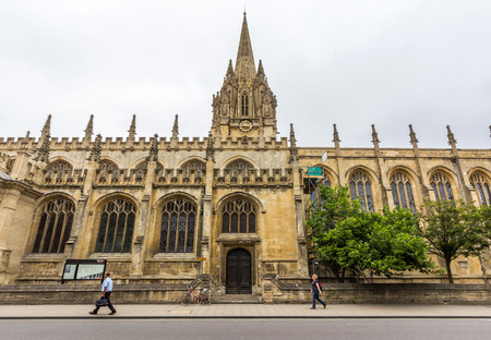 grew: University Church of St Mary the Virgin. It is the largest of Oxfords parish churches and the centre from which the University of Oxford grew. Editorial