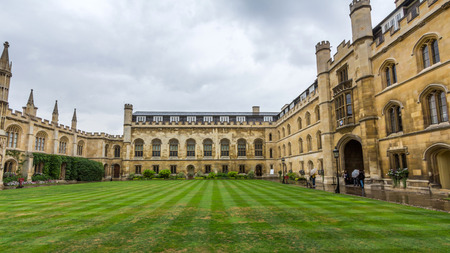 Corpus Christi College of the University of Cambridge in England. It was established in 1352 by the Guild of Corpus Christi and the Guild of the Blessed Virgin Mary. Editorial