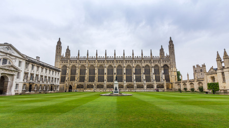 Kings college chapel in the University of Cambridge, England. It features the worlds largest fan vault, constructed between 1512 and 1515 by master mason John Wastell.