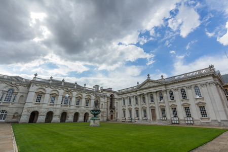 the senate: Senate house and the old schools of Cambridge, England. Editorial