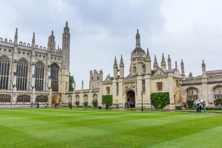 gatehouse: Gatehouse of the Kings College of the University of Cambridge in England. It lies besides the River Cam and faces out onto Kings Parade in the city centre.